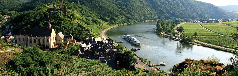 Crociere fluviali sul reno giver viaggi for Cabine sul bordo del fiume